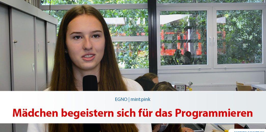 Mädchen begeistern sich für das Programmieren