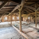 weitere mögliche Lagerfläche auf dem Dachboden