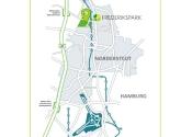 Immobilie Norderstedt - FREDERIKSPARK - Gewerbegrundstück im gewachsenen Quartier, Fläche 2 im B 255