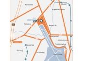 Immobilie Norderstedt - NORDPORT - TOP-BÜROLAGE direkt am Hamburg Airport, Fläche 1 im B 242