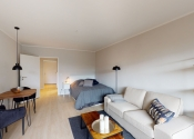 Immobilie Hamburg - Hochwertig möbliertes TOP City Appartement in rückwärtiger, ruhiger Lage