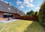 Immobilie Uetersen - Modern renovierte Doppelhaushälfte mit ausgebautem Spitzboden und Vollkeller in Sackgassenlage