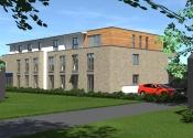 Immobilie Bönningstedt - Neubau Vermietung zum 2. Quartal 2022 2- Zimmer-Terrassenwohnung mit ca. 59 m²   in zentraler Lage
