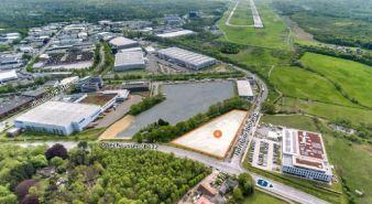 Immobilie Norderstedt - NORDPORT - Gewerbegrundstück in prominenter Lage am Hamburg Airport, Fläche 6 im B 245