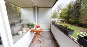 Immobilie Hamburg - Bramfeld - Saniert mit großer Loggia in rückwärtiger Lage