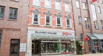 Immobilie Elmshorn - Kleines zentrales Ladenlokal direkt in der Fußgängerzone - mit Werkstatt / Lager