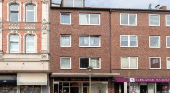 Immobilie Elmshorn - Mitten im Leben von Elmshorn! 3-Zimmer Mietwohnung in unmittelbarer Nähe vom Bahnhof