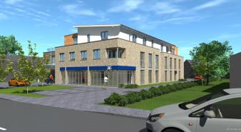 Immobilie Bönningstedt - Neubau Vermietung zum 2. Quartal 2022 3- Zimmer-Terrassenwohnung mit ca. 66 m²   in zentraler Lage