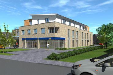 Neubau - Mietbeginn 2. Quartal 2022 4 Zimmer Dachterrassenwohnung in zentraler Lage von Bönningstedt
