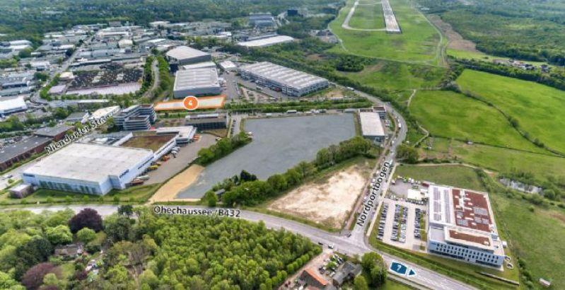 Immobilie Norderstedt - NORDPORT - Gewerbegrundstück direkt am Airport Hamburg, Fläche 4 im B 245