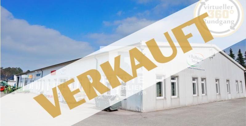 Immobilie Kisdorf - Lager-/Werk-/Verkaufshalle mit Bürotrakt und großzügigem Außengelände in Toplage