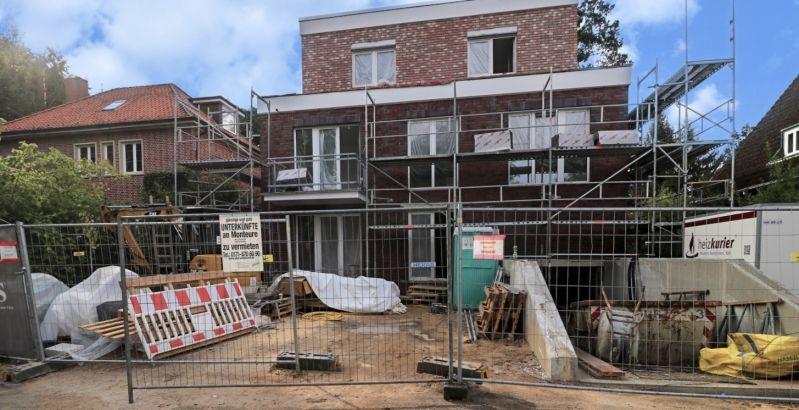 Immobilie Hamburg - Neubau!  2-Zimmer-Wohnung mit Terrasse und TG-Stellplatz in Hamburg-Volksdorf