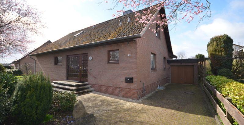 Immobilie Tangstedt / Wilstedt - Jetzt schnell sein! Gepflegtes Architektenhaus nahe der Natur